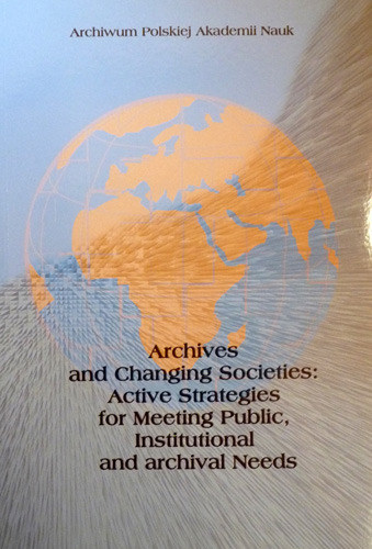 archives and changing societies
