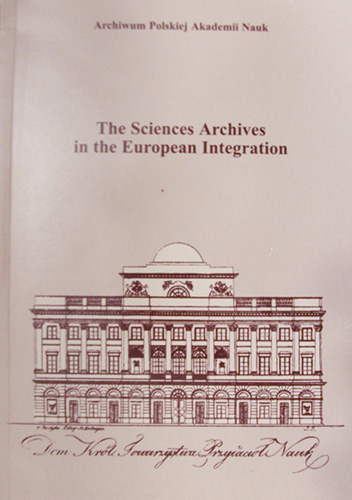 the sciences archives in the european integration